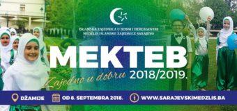 Mektebska nastava počinje u subotu 08. septembra