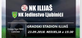 Ovog vikenda gradski derbi između NK Ilijaš i NK Jedinstvo