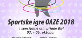 """Na ovogodišnjim """"Sportskim igrama Oaze"""" više od 700 učesnika"""