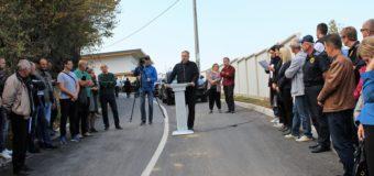 Rekonstruisan  i asfaltiran put na dionici Vlaškovo – Gornja Karaula
