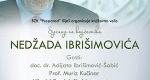 """Književno veče """"Sjećanje na Nedžada Ibrišimovića """""""