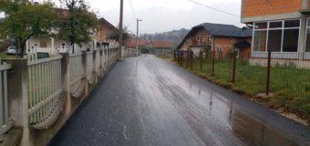 Asfaltiran lokalni put u naselju Alića bara