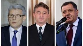 U Predsjedništvu BiH: Džaferović, Dodik i Komšić