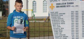 """Bilal Begić: """"Dobio sam ime po šehidu"""""""