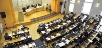 Kanton Sarajevo: Novoizabrani poslanici prvi put u skupštinskim klupama