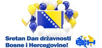 Danas se obilježava Dan državnosti Bosne i Hercegovine i 75. godišnjica ZAVNOBiH-a
