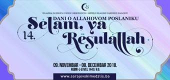"""Najava 14. Manifestacije  """"Selam, ya Resulallah"""""""