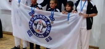 Novih šest medalja za Taekwondo klub Ilijaš u Mostaru
