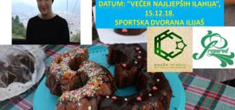 """Prodajni slatki bazar  za pomoć liječenju Amine Bradić u toku koncerta """"Večer najljepših ilahija"""""""