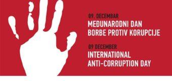 Međunarodni dan borbe protiv korupcije 9. decembar