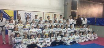 Održano polaganje za više pojaseve Taekwondo kluba Ilijaš